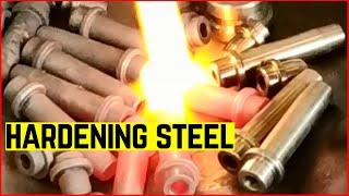 Cara Hardening Besi atau Pengerasan Besi Dengan Las dan Oli