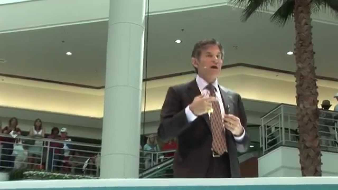 ICTV1 DR OZ WPBF HEALTH AND WELLNESS FESTIVAL THE GARDENS MALL - YouTube