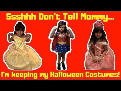 Halloween DIY Costume Fashion Cosplay 2018 | Foodie Babies Nico & Suri