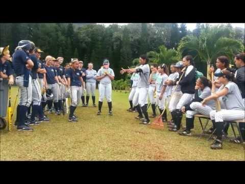 Hawaii Pacific University VS Cal Baptist Softball- Harlem Shake