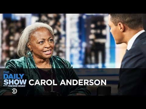 "Carol Anderson – ""One Person, No Vote"" & The Impact of Voter Suppression 
