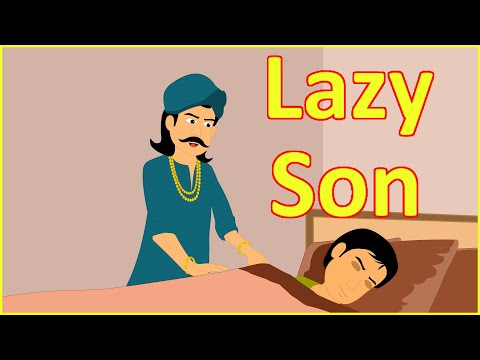 Lazy Son | Moral Stories for Kids in English | English Cartoon | Maha Cartoon TV English