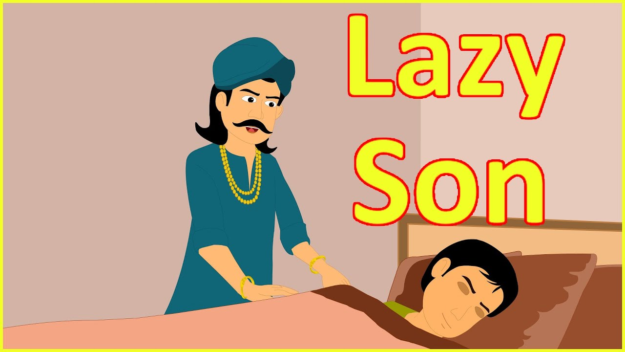 Lazy Son   Moral Stories for Kids in English   Maha Cartoon TV English
