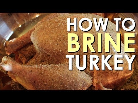 Make How to Brine & Prepare a Turkey | Art of Manliness Snapshots