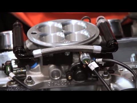 Edelbrock E-Street EFI Systems 1967 Chevy Corvette 350 Electronic Fuel  Injection Conversion Install