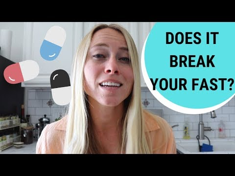 DO SUPPLEMENTS BREAK YOUR FAST? [Intermittent Fasting]