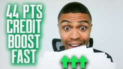 44 POINT BOOST FAST || SECRET REPORTING CODES || REMOVE NEGATIVE ITEMS FREE CREDIT REPAIR