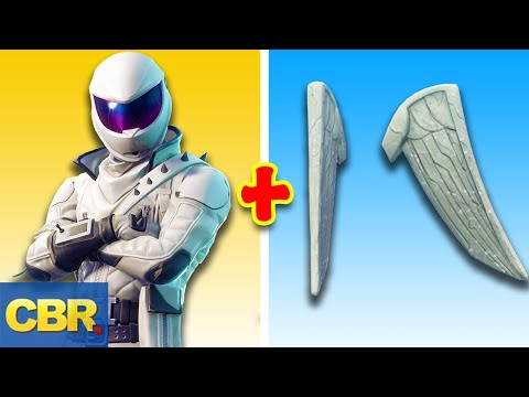 25 Best Looking Fortnite Skins And Back Blings Combos