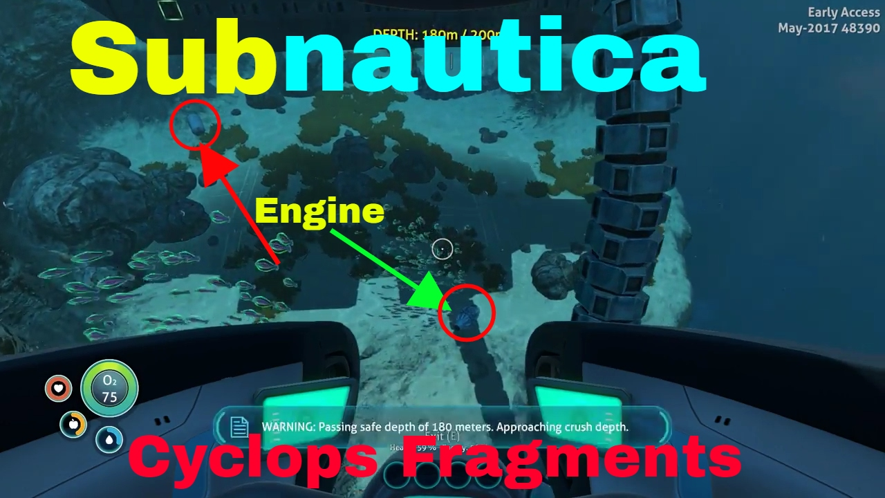 how to build cyclops subnautica