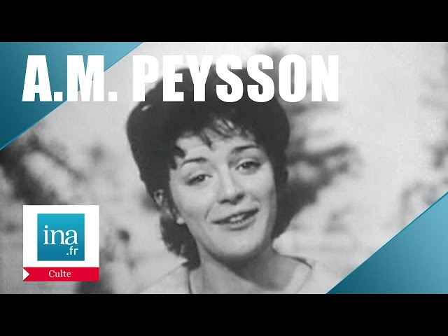 Speakerine 1960 Anne-Marie Peysson | Archive INA