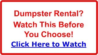 Dumpster Rental Ann Arbor MI | Affordable, Reliable, Next Day Delivery & More