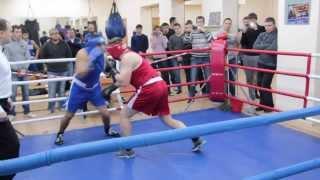 Открытый ринг в боксерском клубе Джеб 14.12.2013
