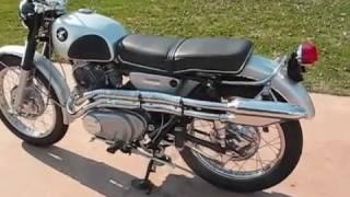 Honda 305 Scrambler (CL77) Restoration