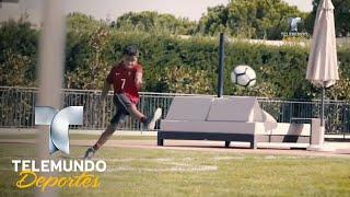 El hijo de CR7 da muestras de su talento con un golazo | Más Fútbol | Telemundo Deportes