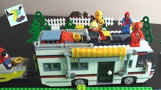 Lego Creator 31052 I КЕМПИНГ I ОТПРАВЛЯЕМСЯ В ПУТЕШЕСТВИЕ I ЛЕГО КЕМПИНГ(, 2017-04-22T11:13:57.000Z)