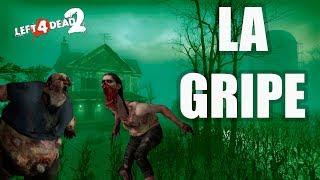 """Left 4 Dead 2 Mutación: """"LA GRIPE"""" #3 CAMPAÑA EN EXPERTO: Swamp Fever"""
