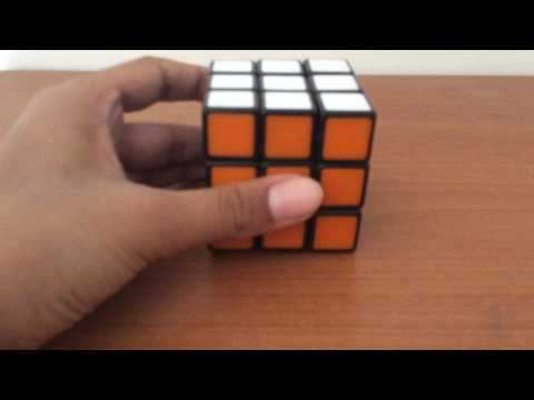 How to make a wave on a Rubik's cube
