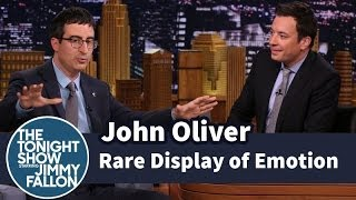 John Oliver Showed a Rare Display of Emotion thumbnail