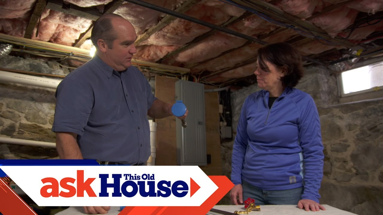 How To Install A House Hydrant Ask This Old House Youtube