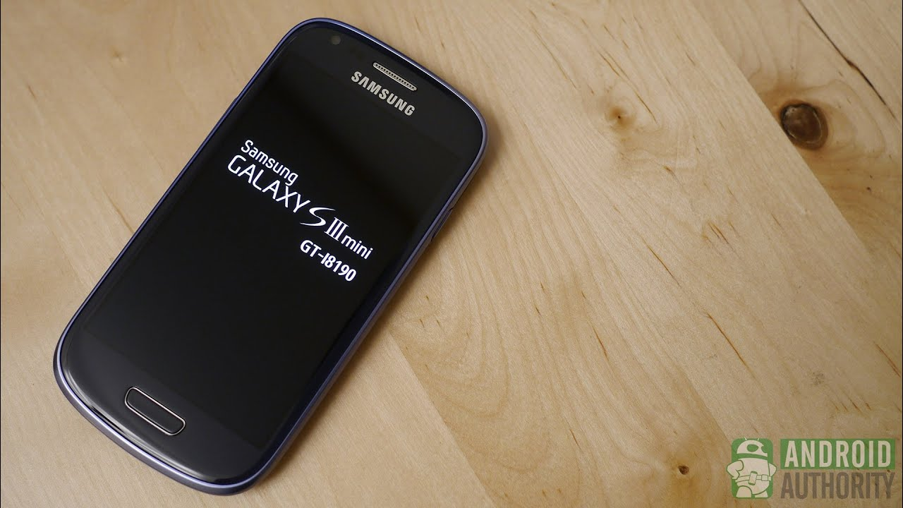 Samsung Galaxy S3 Blue Box
