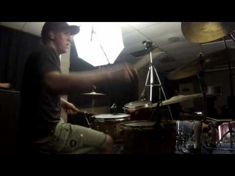 "Rings of Saturn's Aaron Stechauner  ""Senseless Massacre"" Drum Playthough"