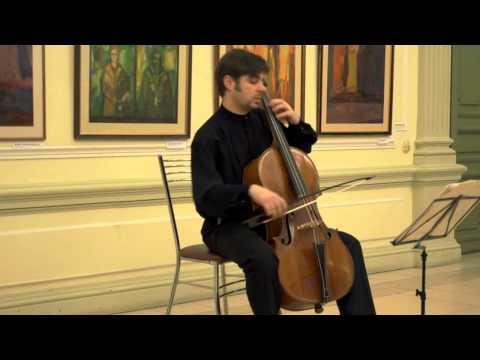 Bach J.S. Suite №1. Pavel Serbin (baroque cello)