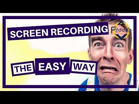 How To Create Screen Recordings - The Easy Way!