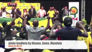 Repeat youtube video Zuma sings with Obama and Madiba