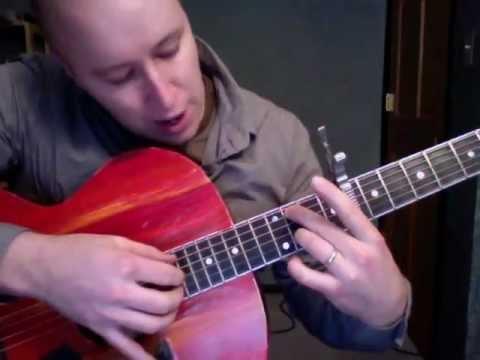 The Dress Looks Nice on You- Guitar Lesson Sufjan Stevens