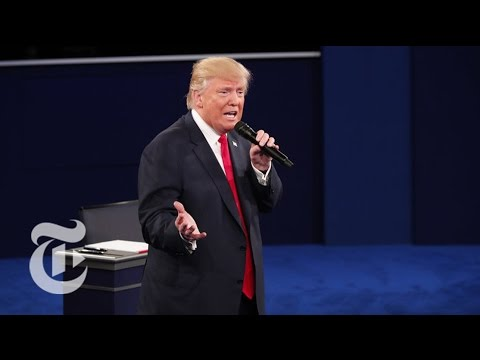 Trump Deflects Questions On Lewd Comments | Election 2016 | The New York Times