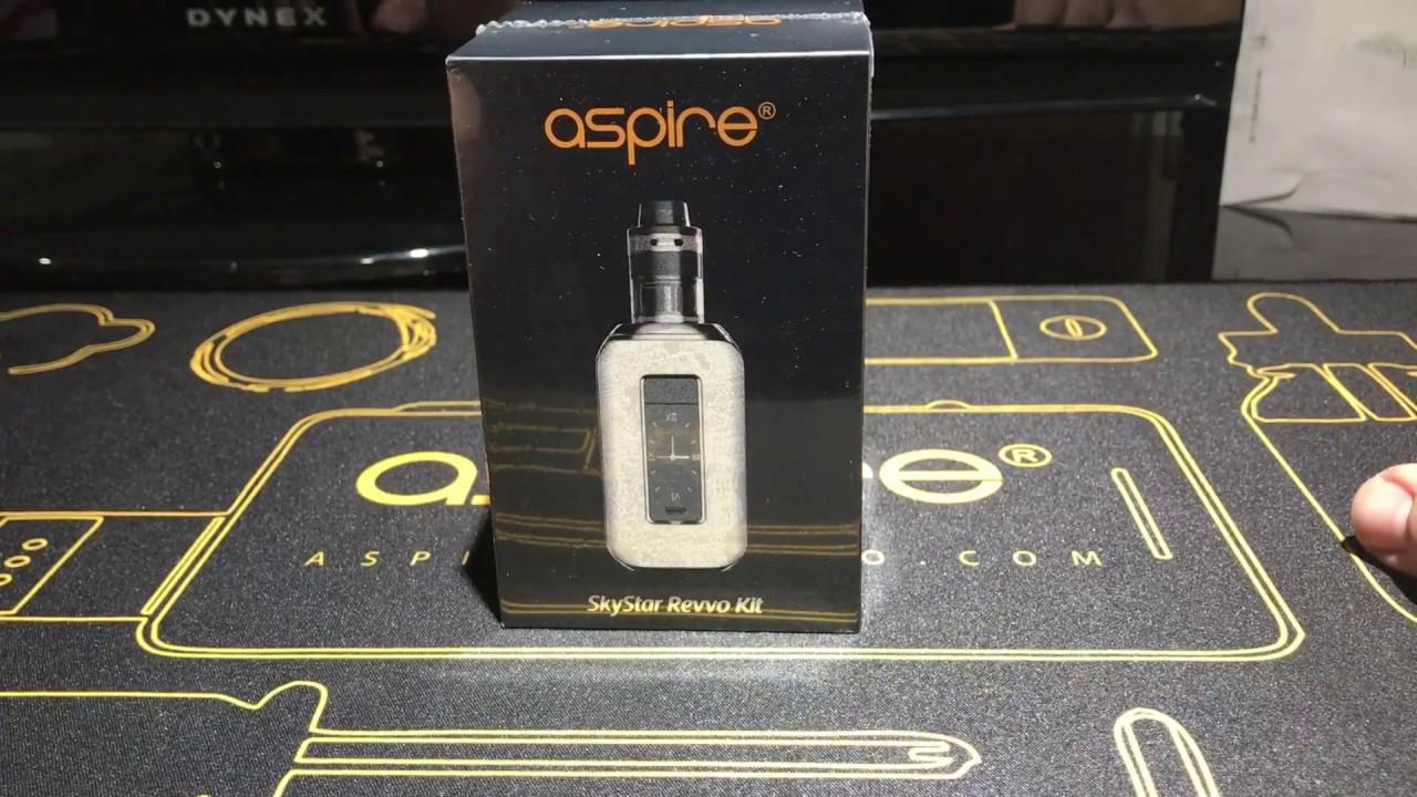 The All New Aspire Skystar Revvo Kit Unboxing!