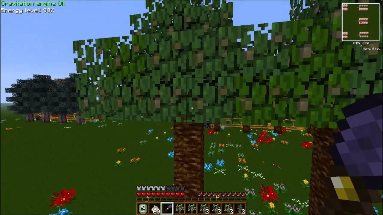 Minecraft Forestry Tree Breeding Guide in FTB Ep 2