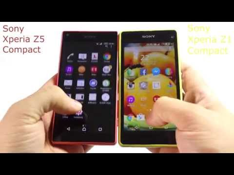 Sony Xperia Z5 Compact versus Sony Xperia Z1 Compact