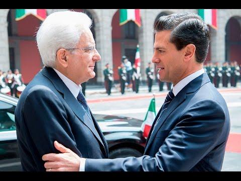 Città del Messico, il Presidente Mattarella incontra il Presidente Enrique Peña Nieto