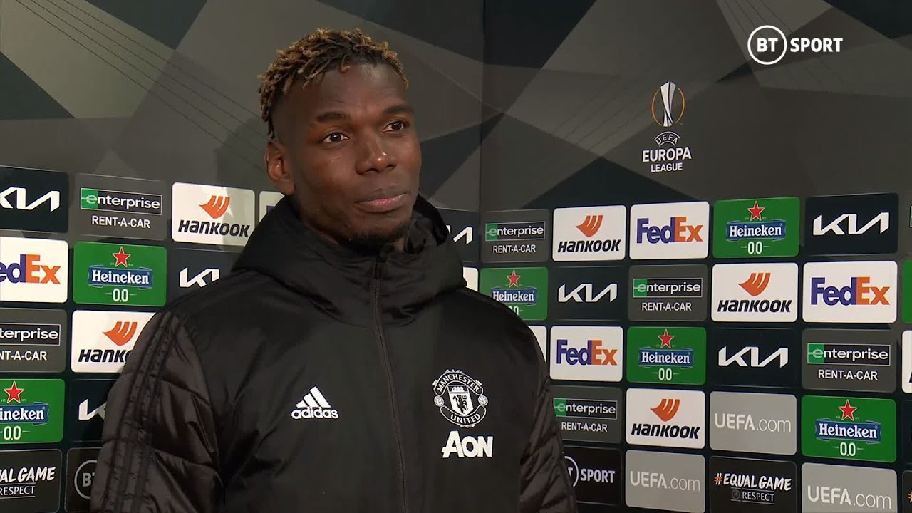 """I see all the players trying to get me out"" Paul Pogba frustrated to be forced off against Granada"