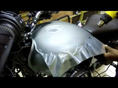 Royal Enfield Classic 350 GMG 2018 (Tank Protection Coating from scratches)