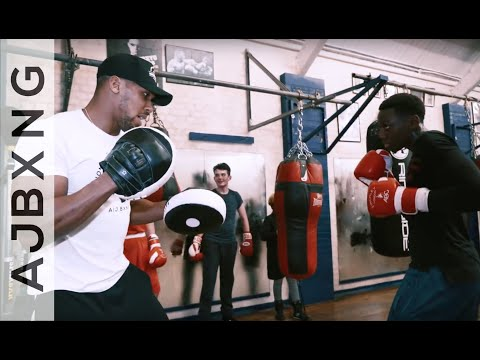Teach Them Early What I Learnt Late ~ Anthony Joshua