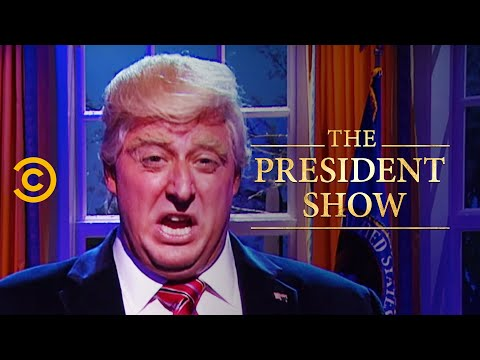 Farewell Address - It's Not Going to Stop - The President Show