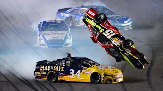 Repeat youtube video NASCAR Crashes 3