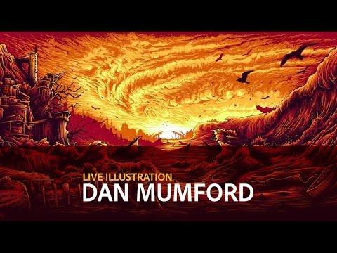Live Illustration with Dan Mumford - DAY 3/3