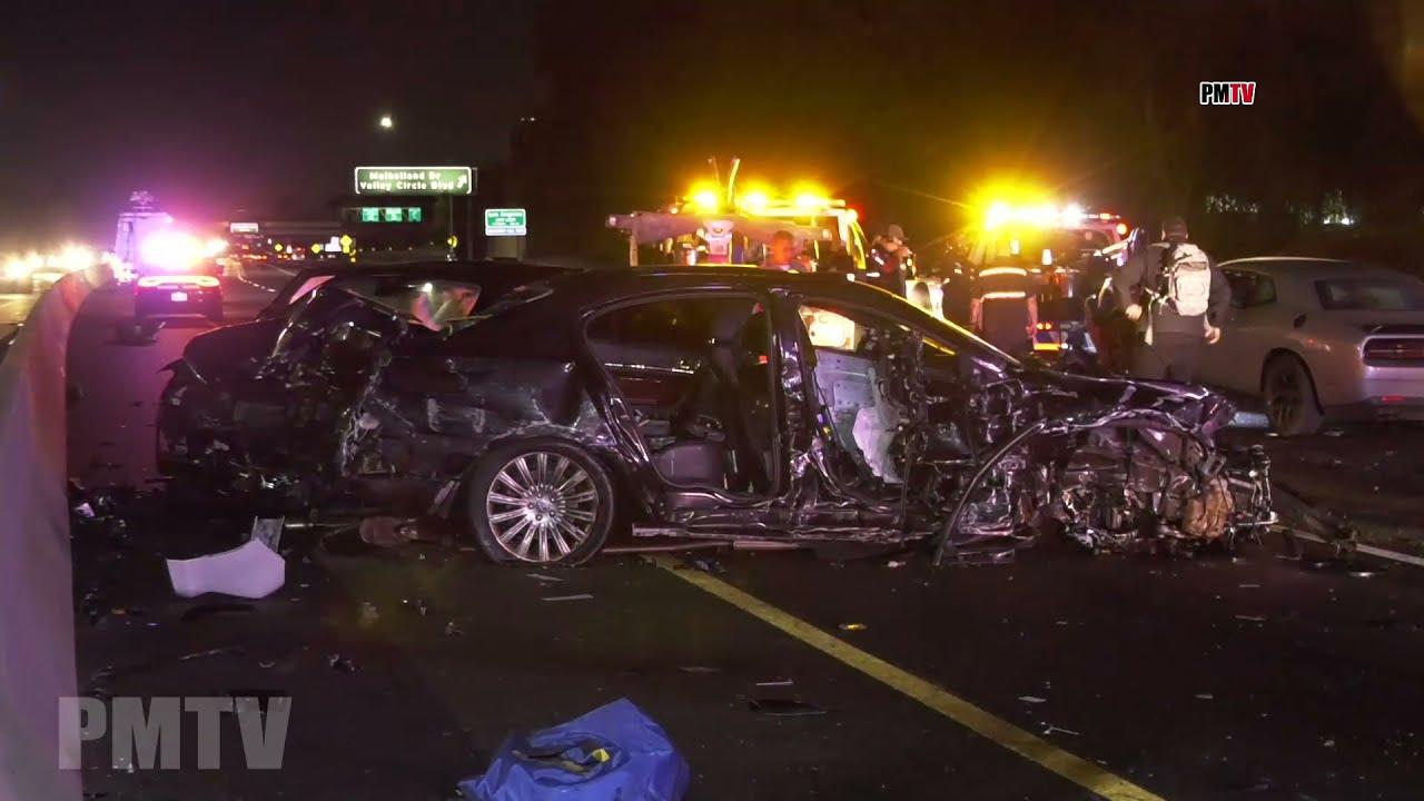 Download Fatal Multi Vehicle Crash Closes Part of 101 Freeway  | Calabasas CA