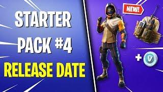 Fortnite Starter Pack #4 RELEASE DATE LEAKED! *Summit Striker Skin* (Fortnite News)