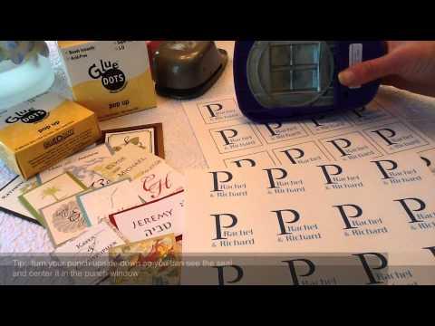 Pocket Fold Wedding Invitations With Custom Seals