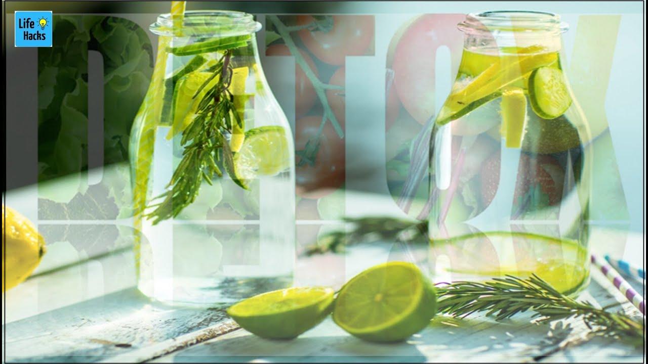घर पर बनाए इस मिश्रण को और इसे पीने मात्र से ही शरीर रहता है अंदर से साफ़ | Detox Water Benefits |