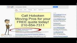 Moving Quotes Hoboken | Affordable Rates 210-654-7311 | Movers Hoboken