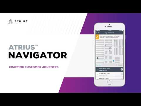 Atrius Navigator Indoor Positioning and Location-Based Platform Service SDK