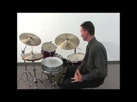 DPM - 12 - Drumset: Very basic Rock, Jazz & Latin Styles