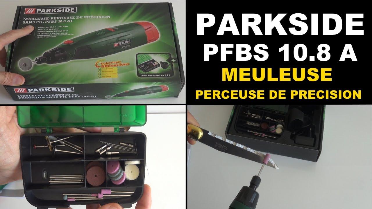 Parkside Pfbs 10 8 A1 Meuleuse Perceuse De Precision Lidl Cordless