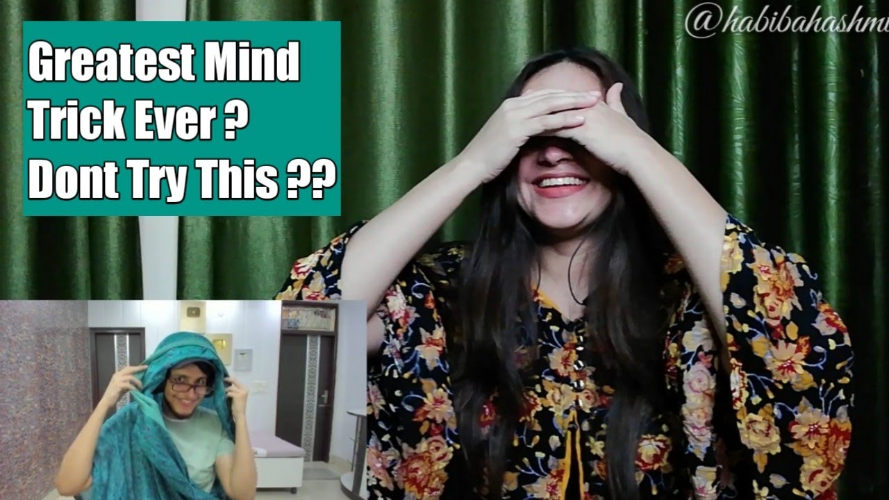 THE GREATEAST MIND TRICK EVER | INDIAN SHERLOCK HOLMES IS BACK - REACTION BY HABIBA