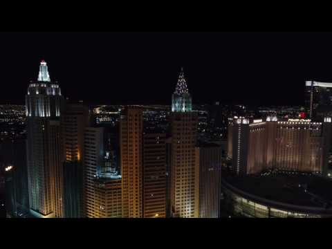 Las Vegas Strip from the Sky 4K Drone DONT FLY LIKE THIS YOU WILL LEARN THE HARD WAY TOO